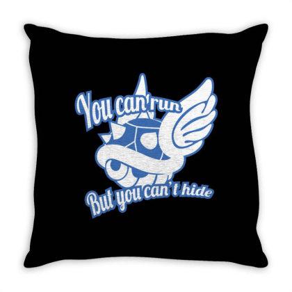 Blue Shell Throw Pillow Designed By Bolebole