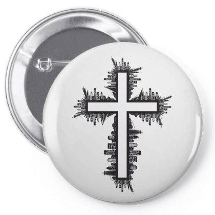 Cross Pin-back Button Designed By Estore