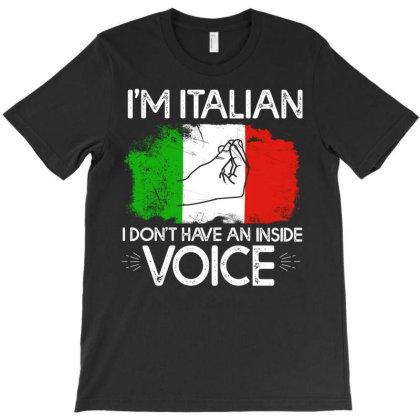 I'm Italian T-shirt Designed By Cogentprint
