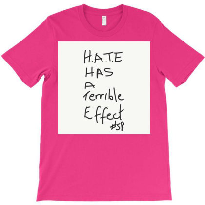 H.a.t.e Has A Terrible Effect T-shirt Designed By Kiss