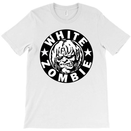 2 White Zombie T-shirt Designed By Fikramdzikrullah