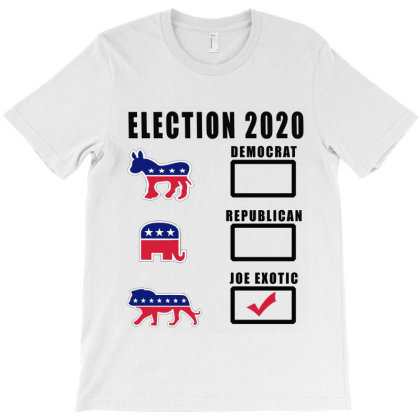 Joe Exotic For President T-shirt Designed By Elegance99