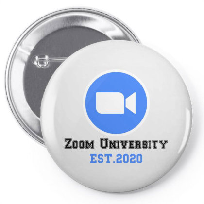 Zoom University Pin-back Button Designed By Redberries