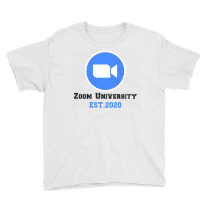 Zoom University Youth Tee Designed By Redberries