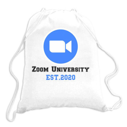 Zoom University Drawstring Bags Designed By Redberries