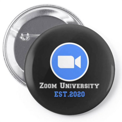 Zoom University | White Pin-back Button Designed By Redberries