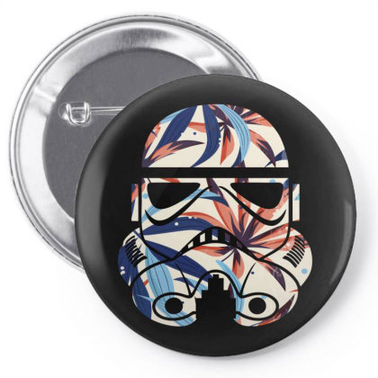Sormtroopers Flower Pin-back Button Designed By 90stings