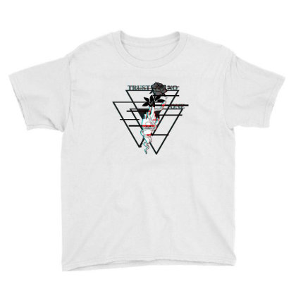 Trust No One Youth Tee Designed By 90stings