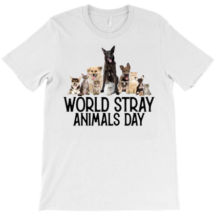 World Stray Animals Day T-shirt Designed By Gurkan