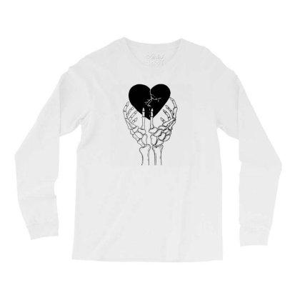 Broken Heart Long Sleeve Shirts Designed By Tarwa