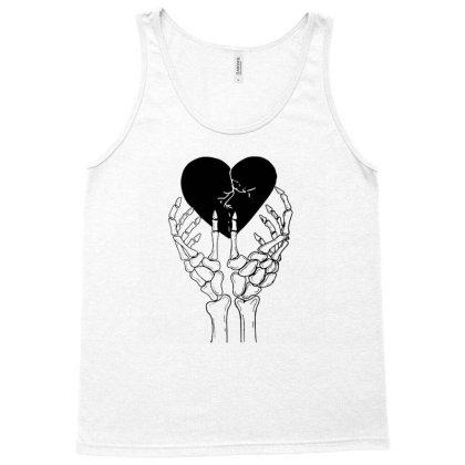 Broken Heart Tank Top Designed By Tarwa