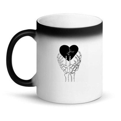 Broken Heart Magic Mug Designed By Tarwa