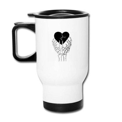 Broken Heart Travel Mug Designed By Tarwa