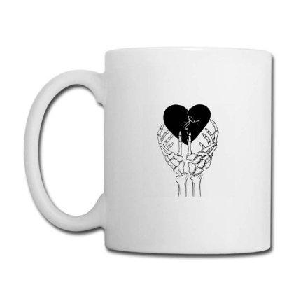 Broken Heart Coffee Mug Designed By Tarwa