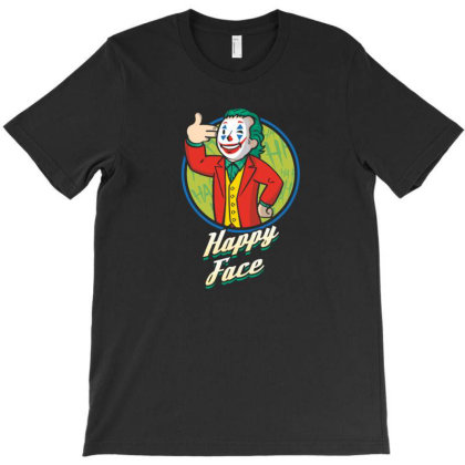 Comedian Boy Happy Face T-shirt Designed By Tarwa