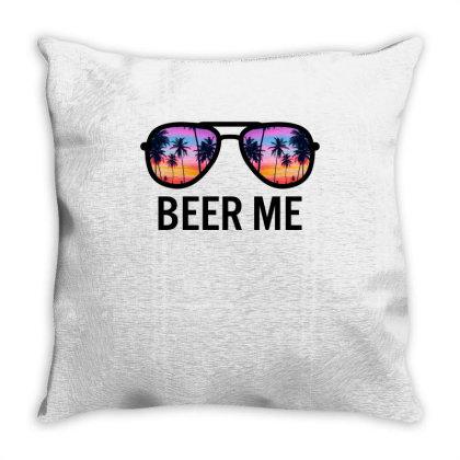 Beer Me Throw Pillow Designed By Badaudesign