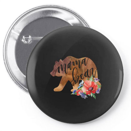 Mama Bear Pin-back Button Designed By Badaudesign