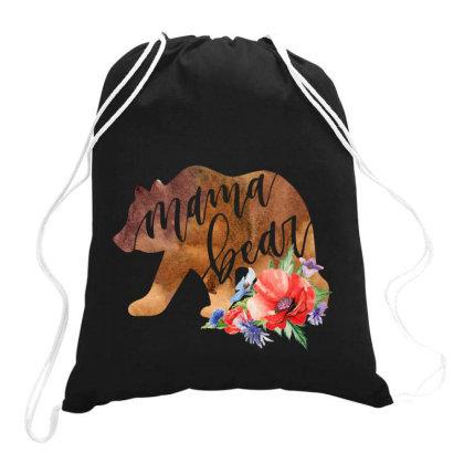 Mama Bear Drawstring Bags Designed By Badaudesign