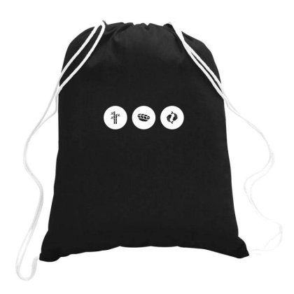 Japan Icons Ii Drawstring Bags Designed By Anis4