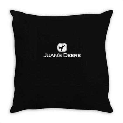 Juan's Deer Throw Pillow Designed By Anis4