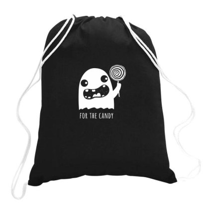 Just Here For The Candy Drawstring Bags Designed By Anis4