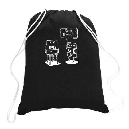 Keep Moving New Drawstring Bags Designed By Anis4