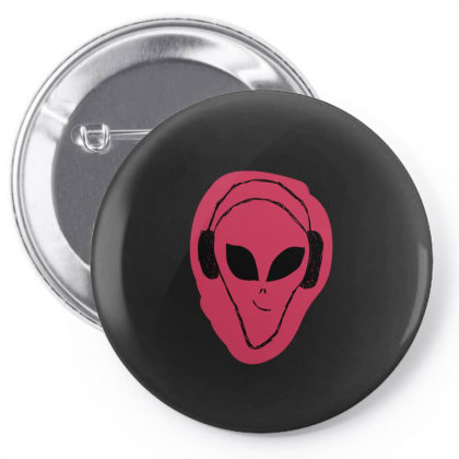 Alien Music Pin-back Button Designed By Cypryanus