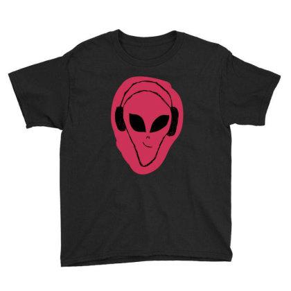 Alien Music Youth Tee Designed By Cypryanus