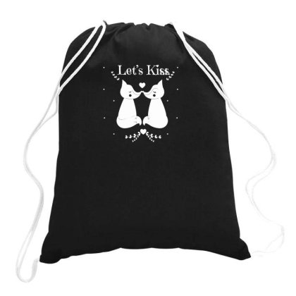 Kiss Drawstring Bags Designed By Anis4