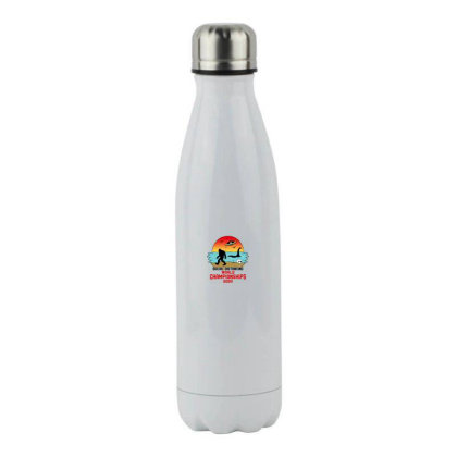 Social Distancing World Championships 2020 Stainless Steel Water Bottle Designed By Honeysuckle