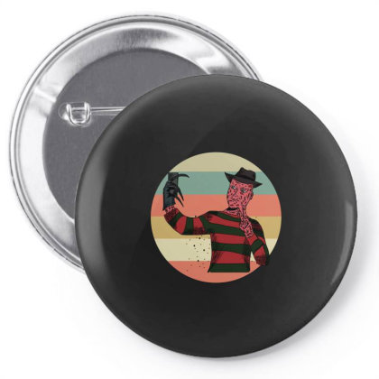 Freddy  Vintage Pin-back Button Designed By Cypryanus