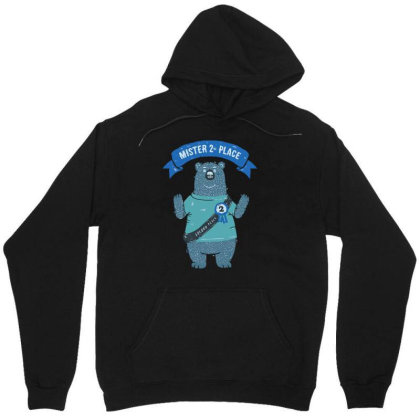 2nd Place Bear Unisex Hoodie Designed By Anis4
