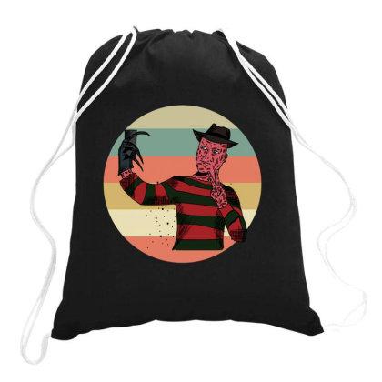 Freddy  Vintage Drawstring Bags Designed By Cypryanus