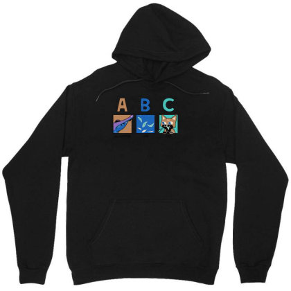 A B See Ya Later Unisex Hoodie Designed By Anis4