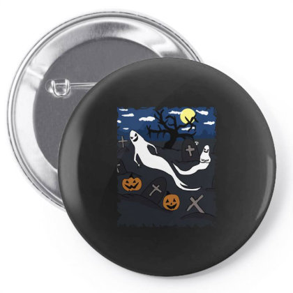 Halloween Day Pin-back Button Designed By Cypryanus