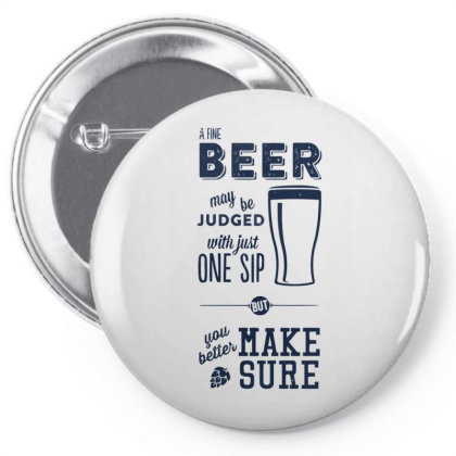 A Fine Beer Pin-back Button Designed By Anis4
