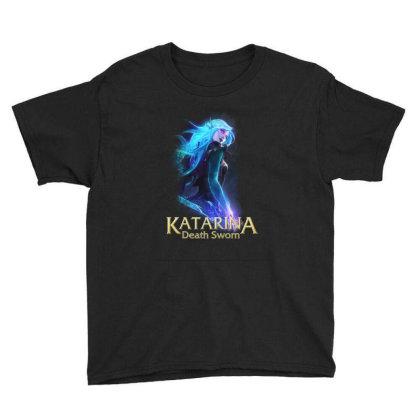 Katarina Death Sworn Youth Tee Designed By Katsu