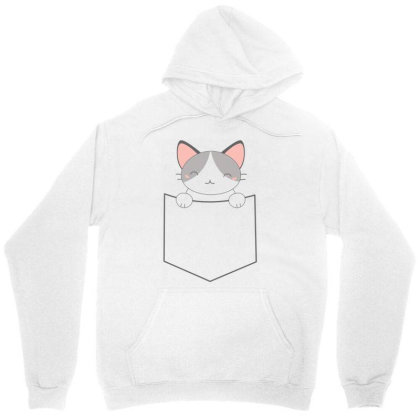 A Pocket Filled With A Cute Cat Unisex Hoodie Designed By Anis4