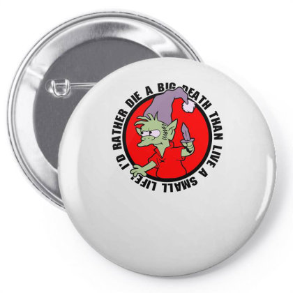A Real Elf Pin-back Button Designed By Anis4