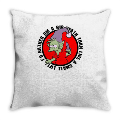 A Real Elf Throw Pillow Designed By Anis4