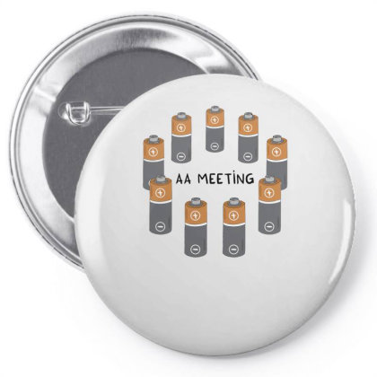 Aa Meeting Pin-back Button Designed By Anis4