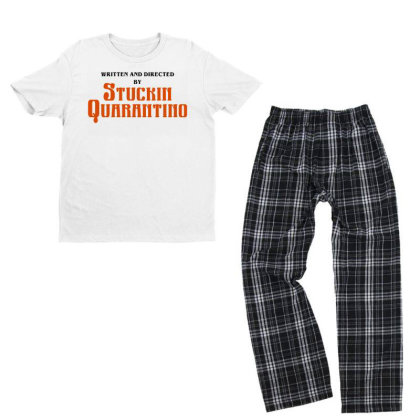 Written And Directed By Stuckin Quarantine Youth T-shirt Pajama Set Designed By Honeysuckle