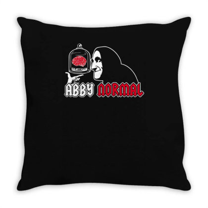 Ab(by)normal Brain Throw Pillow Designed By Anis4