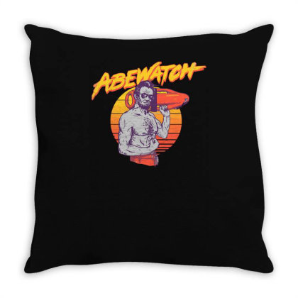 Abewatch Throw Pillow Designed By Anis4