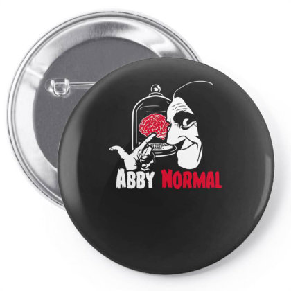 Abnormal Brain Pin-back Button Designed By Anis4