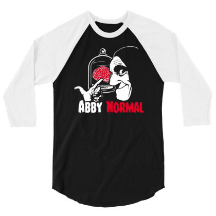 Abnormal Brain 3/4 Sleeve Shirt Designed By Anis4