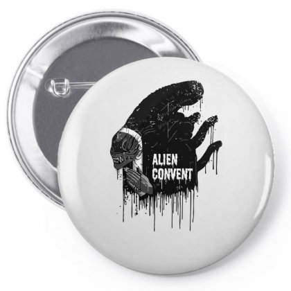 Alien Convent Pin-back Button Designed By Anis4