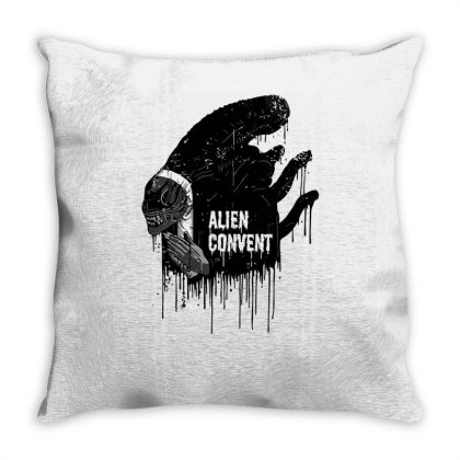 Alien Convent Throw Pillow Designed By Anis4