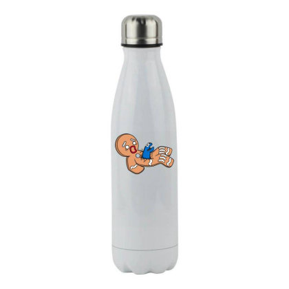 Alion Nom Nom Stainless Steel Water Bottle Designed By Anis4