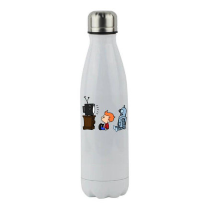 All Hail Toa Stainless Steel Water Bottle Designed By Anis4